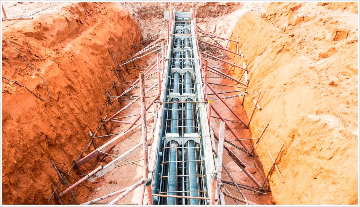 Ingeniería civil, lineas eléctricas