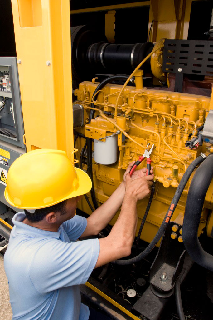 Servicio de mantenimiento de plantas eléctricas