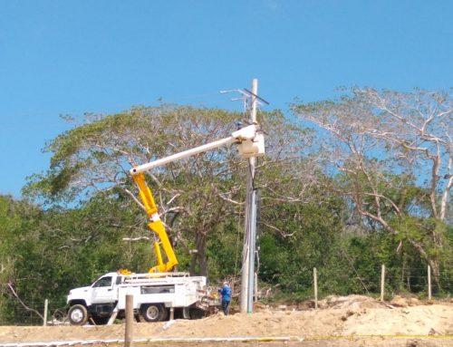 Montaje redes eléctricas media tensión UF7